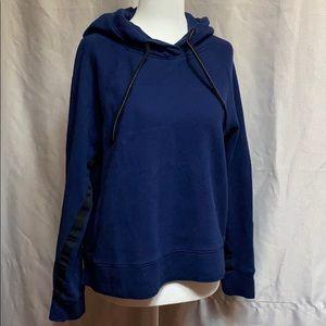 Calvin Klein Navy Blue Performance Cop Sweater